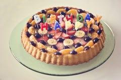 Torta dulce Foto de archivo libre de regalías