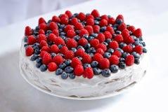 Torta dulce cremosa foto de archivo libre de regalías