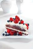 Torta dulce cremosa imagen de archivo libre de regalías