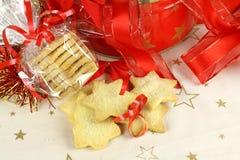 Torta dulce de la Navidad Foto de archivo libre de regalías