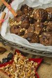 Torta dulce de la Navidad Imagen de archivo libre de regalías