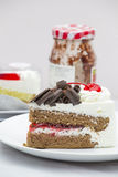 Torta dulce de la panadería Fotos de archivo libres de regalías