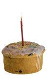 Torta dulce de Pascua en esmalte Fotos de archivo libres de regalías