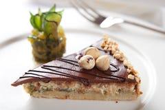 Torta dulce del higo Fotografía de archivo libre de regalías