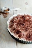 Torta dulce del plátano Foto de archivo libre de regalías