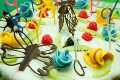 Torta dulce deliciosa Imágenes de archivo libres de regalías