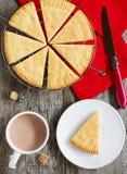 Torta dulce escocesa Foto de archivo libre de regalías