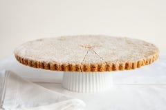 Torta dulce escocesa hecha en casa. Imagenes de archivo