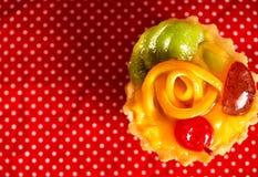 Torta dulce para el desayuno Foto de archivo libre de regalías