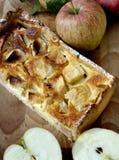 Torta e frutos de Apple Foto de Stock