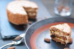 Torta Elvezia a typical cake from Mantua Stock Image