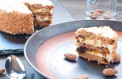 Torta Elvezia a typical cake from Mantua Stock Photos