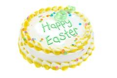 Torta festiva felice di Pasqua Fotografia Stock Libera da Diritti