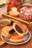 torta a forma di ruota Immagini Stock