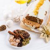 Torta francesa de la Navidad Imagen de archivo libre de regalías