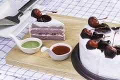 Torta fresca Immagine Stock