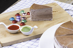 Torta fresca Immagini Stock