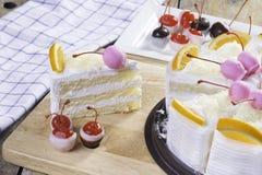 Torta fresca Fotografia Stock Libera da Diritti