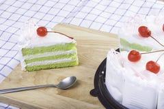Torta fresca Fotografie Stock