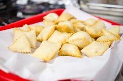 Torta frita Stock Photo