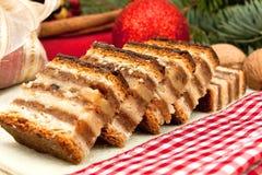 Torta húngara tradicional 4 de Gerbeaud fotografía de archivo