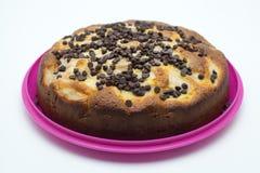 Torta hecha en casa cocida fotos de archivo