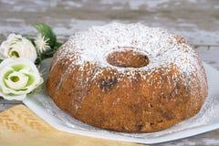 Torta hecha en casa del bundt Fotos de archivo