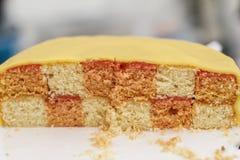 Torta hecha en casa sabrosa Imágenes de archivo libres de regalías