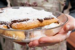 Torta hecha hogar imagenes de archivo