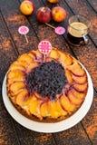 Torta inversa Fotografia Stock