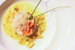 Torta italiana de los salmones Imagen de archivo