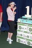 Torta, Jenna Fischer Fotografía de archivo libre de regalías