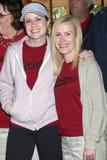 Torta, Jenna Fischer, Angela Kinsey Fotografía de archivo libre de regalías