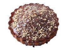 Torta lustrata e spruzzata casalinga Fotografia Stock