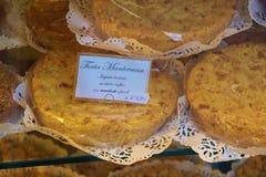Torta Manovana, eine berühmte lokale Spezialität Mantua, Italien Lizenzfreie Stockfotos