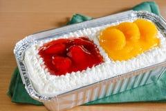 Torta mezclada imagen de archivo libre de regalías