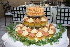 Torta nunziale Immagine Stock Libera da Diritti