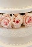 Torta nunziale Fotografie Stock Libere da Diritti