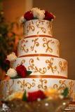 Torta nunziale indiana Fotografia Stock