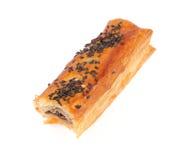Torta Nuts com sementes de sésamo Fotos de Stock Royalty Free