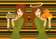 Torta o arancio Fotografia Stock