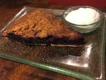 Torta organica del gelso Immagini Stock
