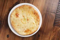 Torta osseto com batatas ou carne de carneiro Imagens de Stock Royalty Free