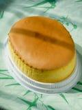 Torta oval del huevo Foto de archivo