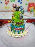Torta para el cumpleaños fotos de archivo libres de regalías