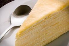 Torta para el primer/la torta del descanso para tomar café para el descanso para tomar café/la torta para el tiro del primer del  Fotos de archivo libres de regalías