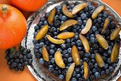 Torta para la acción de gracias y Halloween del día de fiesta Fotos de archivo