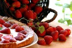 Torta per il gourmet Fotografie Stock