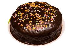 Torta do chocolate Foto de Stock Royalty Free