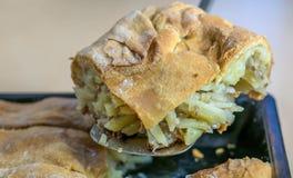 Torta quente cozida do forno Imagem de Stock Royalty Free